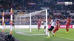 خلاصه بازی رم 0-2 آتالانتا