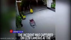 صحنه عجیب و ترسناکی که دوربینهای بیمارستان ضبط کردند