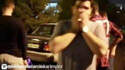 کلیپ خنده دار حامد پهلانه | محمد امین کریم پور