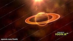 فوتکا - دانلود رایگان فوتیج گذر از نزدیک زحل- دانلود در footk.ir
