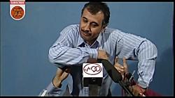 دولتی ها در کلنگ زنی و مسابقه مچ انداختن در خنده بازار فصل 2 قسمت ششم