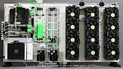 Project p5yche by Darwin PC: TT caseMOD 2016 - filling watercooling loop
