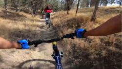 دوچرخه سواری در پارک چیتگر | دوچرخه کوهستان