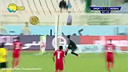 خلاصه دیدار پرسپولیس 0 - سپاهان 2