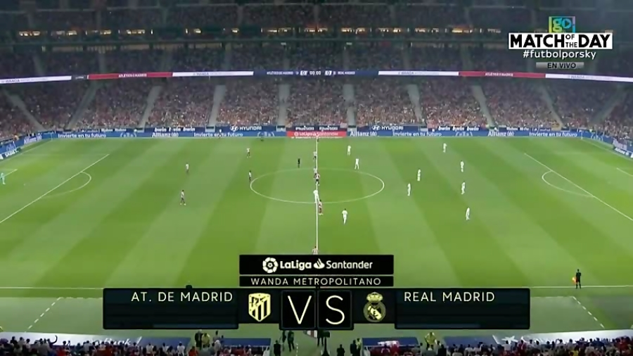 خلاصه بازی اتلتیکو مادرید 0 - رئال مادرید 0 (لالیگا اسپانیا)