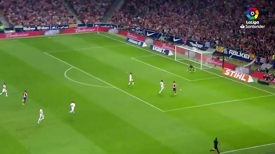 خلاصه دربی هفته هفتم لالیگا _ اتلتیکو مادرید ۰-۰ رئال مادرید