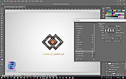 طراحی لوگو در فتوشاپ سری 18