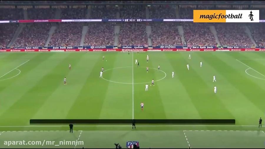 خلاصه بازی اتلتیکو مادرید 0 - 0 رئال مادرید ( لالیگا)