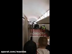 خودکشی وحشتناک مترو