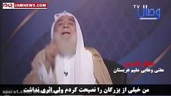 آبروریزی برای مفتی تکفیری حامی داعش در پخش زنده تلویزیونی