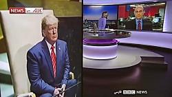 واکنش مجری ایرانی BBC به دروغ گویی مشاور ترامپ!