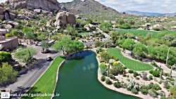 آریزونا ، هتلی با چشم انداز کوهستان و بیابان