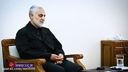 اولین مصاحبه مطبوعاتی سردار قاسم سلیمانی و ناگفته های جنگ 33 روزه
