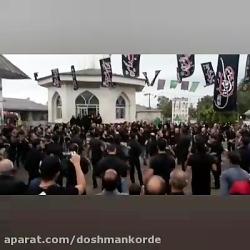 مراسم تاسوعا روستای دش...