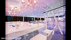 حقانی 09380039391-سقف برقی رستوران-سقف تاشو رستوران سنتی
