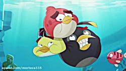 کارتون پرندگان خشمگین-غرق شدن یاشنا