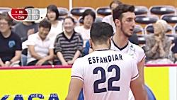 خلاصه والیبال ایران 3-1 کانادا؛ جام جهانی 2019