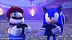 وقتی سونیک و ماریو سوپر...