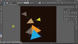طراحی پارچه با اشکال چندضلعی