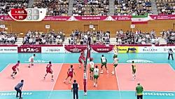 خلاصه والیبال ایران 3-1 استرالیا؛ جام جهانی 2019