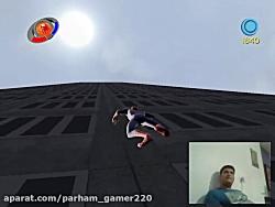 گیم پلی بازی مرد عنکبوتی 3 قسمت دوم (گیم پلی توسط خودم)