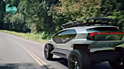 اولین نگاه به خودرو برقی Audi Ai Trail