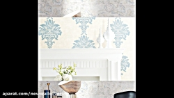کاغذ دیواری اتاق پذیرایی کلاسیک