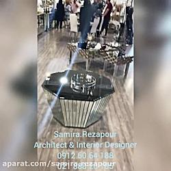 آینه ونیزی- گروه معماری داخلی سمیرا رضاپور
