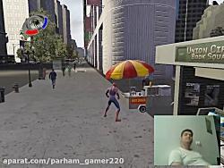 گیم پلی بازی مرد عنکبوتی 3 قسمت سوم (گیم پلی توسط خودم)