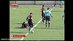 ملوان 0 - گل ریحان 1 / نیمه اول