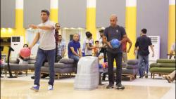 برگزاری مسابقات بولینگ آتش نشانان