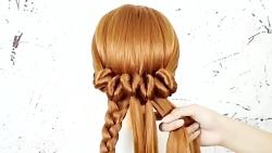 مدل موی بان برای عروسی گام به گام