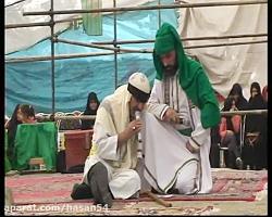 تعزیه امام رضا (ع) - گفتگوی نابینا با امام رضا (ع)