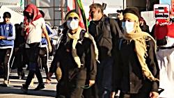 نماهنگی از حضور عاشقان حسینی در مسیر پیاده روی نجف تا کربلا 1398