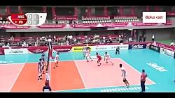 خلاصه والیبال ایران - آ...