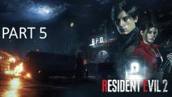 resident evil 2 farsi part 5|پارت 5 ب...