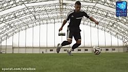 دریبل های فانتزی فوق حرفه ای فوتبال