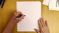 آموزش نقاشی کارتونی: چطور سر کارتونی را از یک زاویه خاص بکشیم