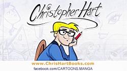 آموزش نقاشی کارتونی: چطور یک کارتون زیبا بکشیم