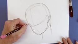 آموزش نقاشی کارتونی: چطور یک دختر مانگوی ساده و کارتونی بکشیم