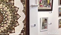 آثار هنرمندان نمایشگاه...