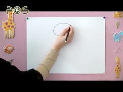 نقاشی کودک / مار زبل