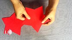 کاردستی ساخت ستاره های ...