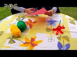 کاردستی کودک | گل لاله ک...