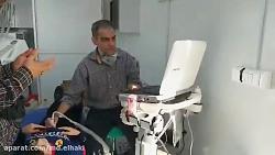 سونوگرافی یک بیمار کود...