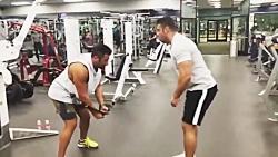 تمرینات سخت ورزشی رضا گ...
