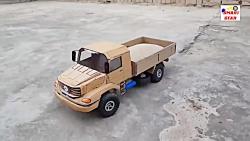 آموزش ساخت کاردستی کامیون