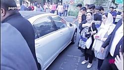 گزارش ویژه از ازدحام هواداران محمدرضا گلزار در مراسم افتتاحیه
