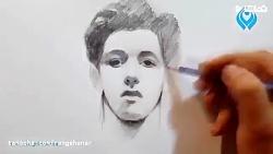 آموزش طراحی چهره از تما...