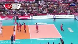 خلاصه والیبال ژاپن 3 - 1 ...